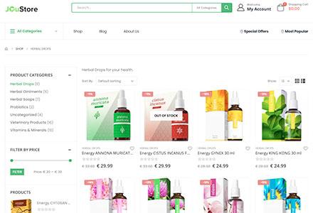 JOuStore - Produkty pro přírodní zdraví - expresní doručení do celého světa