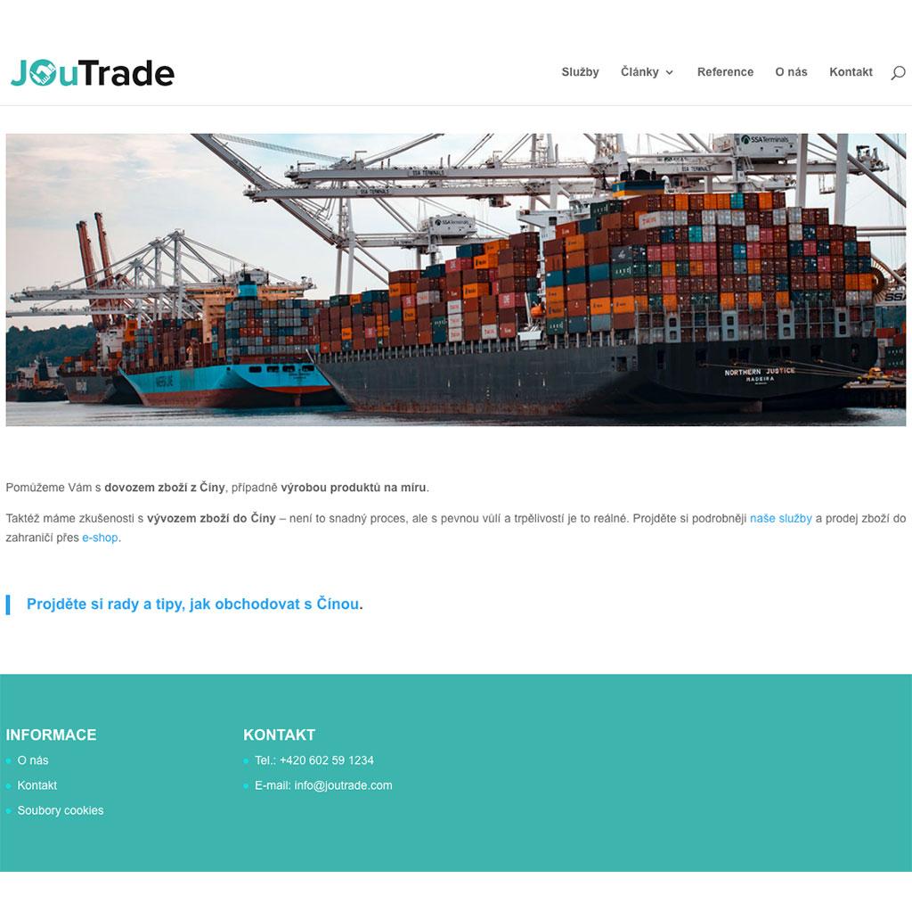 JOuTrade.com - Import & Export zboží