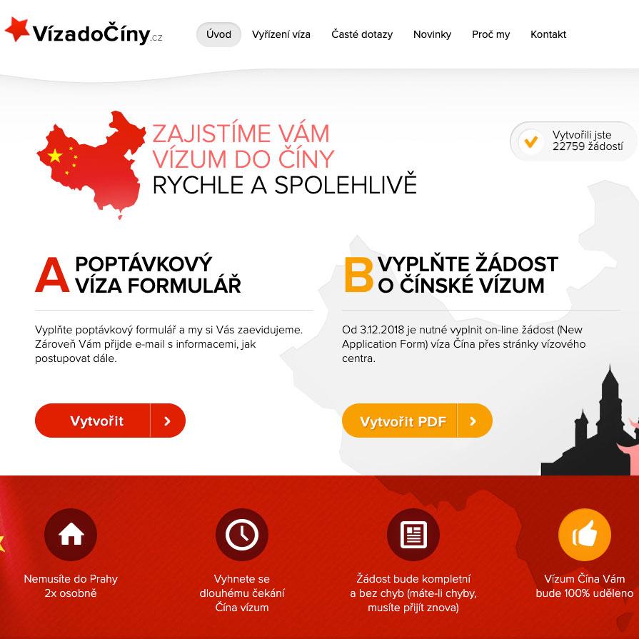 VízadoČíny.cz - čínský vízový servis
