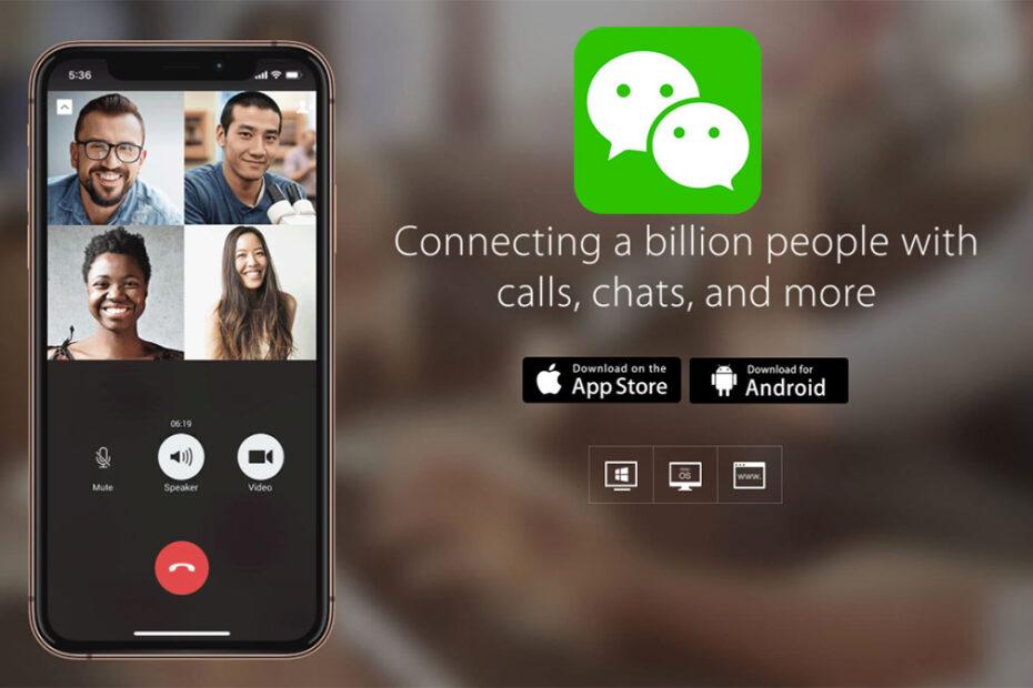 WeChat Marketing Čína
